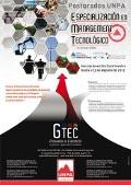 Especialización en Management Tecnológico