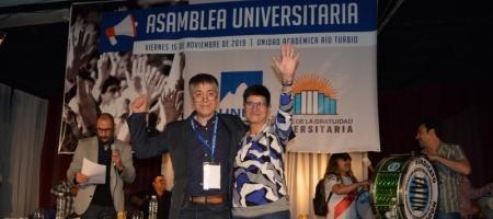 Rojas y Pudebla fueron elegiudos por la Asamblea Universitaria