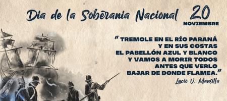 20 de Noviembre- Día de la Soberanía Nacional