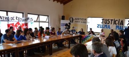 Sesion extraordinaria del Consejo Superior en Río Turbio