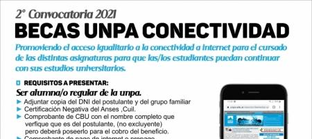 Becas UNPA Conectividad