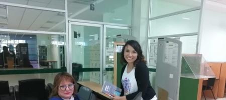 Miriam Díaz en la Universidad Autónoma del Estado de México