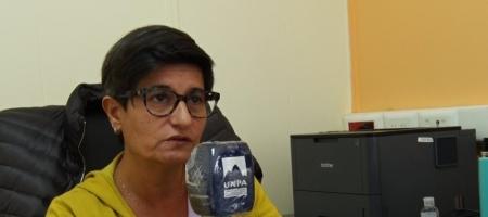 Prof. Roxana Puebla, vicerrectora de la UNPA