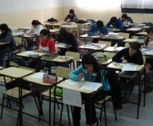 Alumnos en el aula