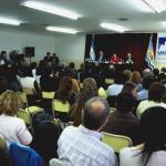 Acto de Asunción de Rectora y Vice Rector de la UNPA para el período 2007-2011