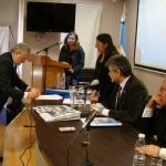 Firma de convenios para la constitución del Observatorio Patagónico sobre la Cue