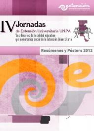 IV Jornadas de Extensión Universitaria