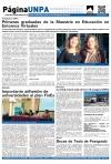 Página UNPA | Jueves 09 de mayo de 2013