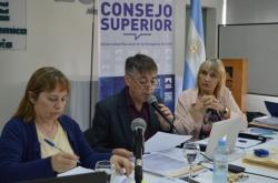 Informe del Rector Hugo Rojas ante el Consejo Superior